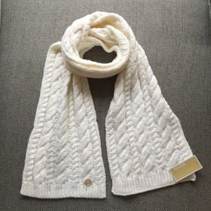 Michael Michael Kors French Cable Knit Muffler